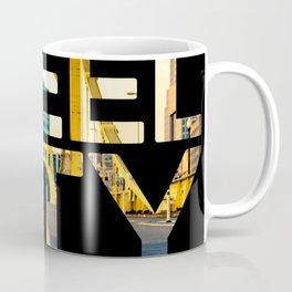 Pittsburgh Steel City Skyline Bridge 412 Photo Print Coffee Mug