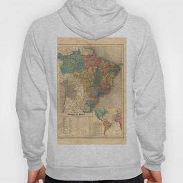 Imperial Atlas of Brazil (1868) - 02 The Empire of Brazil Hoody