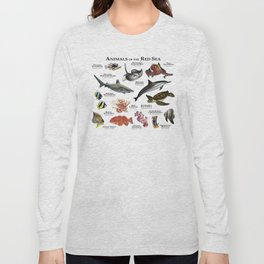 Animals of the Red Sea Long Sleeve T-shirt