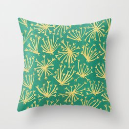 Queen Anne's Lace #3 Throw Pillow