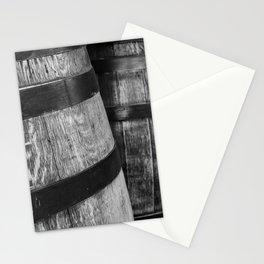 Wine Barrels in San Luis Obispo Stationery Cards