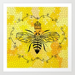 Queen Bee... Art Print