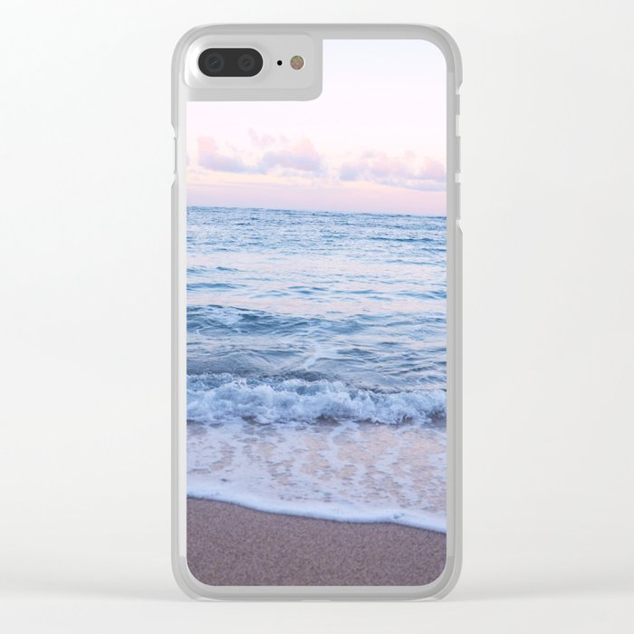 Ocean Morning Clear iPhone Case