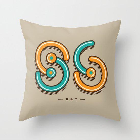 S6 ART Throw Pillow