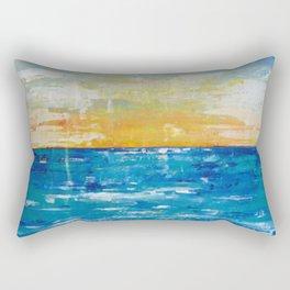 When Your Suntan Fades Rectangular Pillow