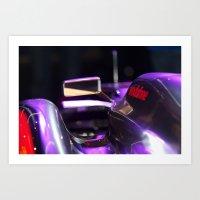 formula 1 Art Prints featuring McLaren formula 1 car by SteveHphotos
