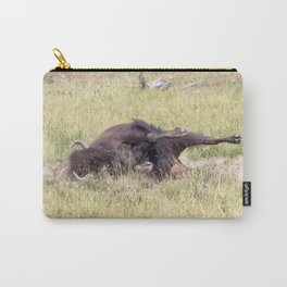 Watercolor Bison Cow 25, Yellowstone, WY Carry-All Pouch