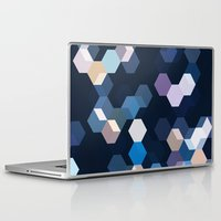 honeycomb Laptop & iPad Skins featuring HONEYCOMB by ED design for fun