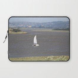 *Sailing into Launceston Tasmania* Laptop Sleeve