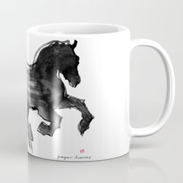 Horse (Devil cantering) Coffee Mug