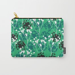 Seeds on green Carry-All Pouch
