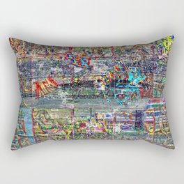 """Blue Arse"" [Recombinant Series] Rectangular Pillow"