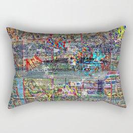 """""""Blue Arse"""" [Recombinant Series] Rectangular Pillow"""