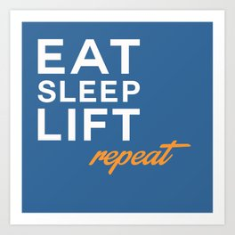 Repeat Art Print