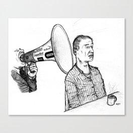 Le Parti De La Presse Et De L'Argent (PPA) Canvas Print