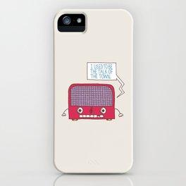 Radio Static iPhone Case