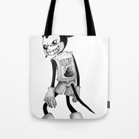 mickey Tote Bags featuring Mickey by wa55up