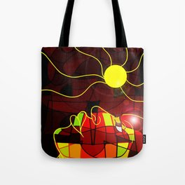 Being Of Light Tote Bag