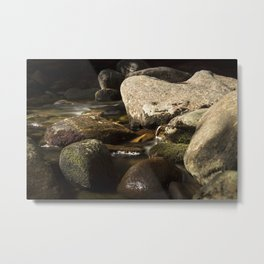 Morning Along Bear River Metal Print