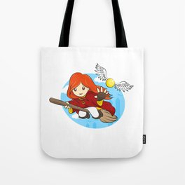 HP - Snitch Catcher - Ginger girl Tote Bag