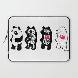 Panda Anatomy Laptop Sleeve