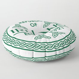 Republic of Ireland - EST. 1921 St.Patrick's Day Awesome Shirt Floor Pillow