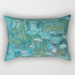 Monet - Water Lilies Rectangular Pillow