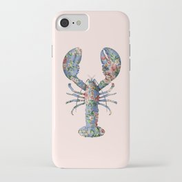FLORAL LOBSTER iPhone Case