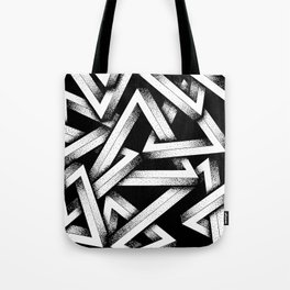 Impossible Penrose Triangles Tote Bag