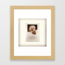 Gandhi Framed Art Print