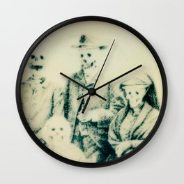 Calling All Skeletons No.5 Wall Clock