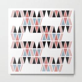 American Native Pattern No. 40 Metal Print