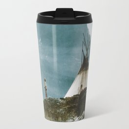 Echoes Call - American Indian Camp Travel Mug
