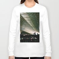washington dc Long Sleeve T-shirts featuring Union Station, Washington DC by Mt Zion Press
