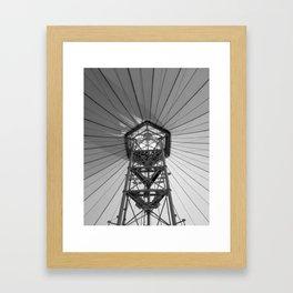 Tent Ceiling Framed Art Print