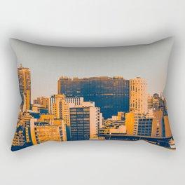 Sao Paulo Skyline II Rectangular Pillow