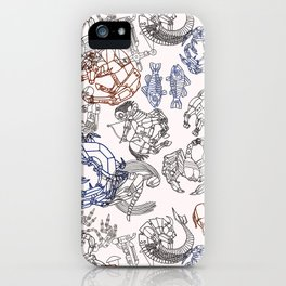 Zodiac Pattern iPhone Case