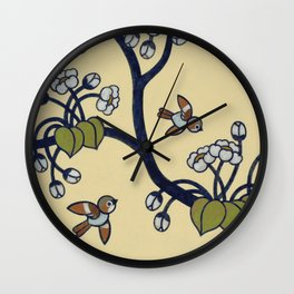 Birdies #2  Wall Clock