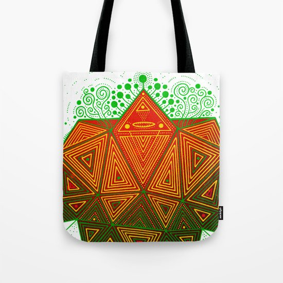 Yello Warrior Tote Bag