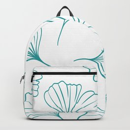 Green Little Ginkgos Backpack