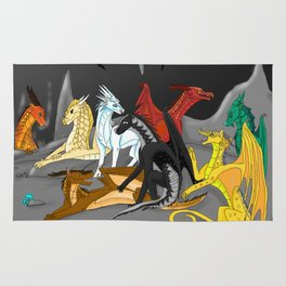 Dragon Wings Of Fire Rug