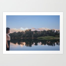Be landscape Art Print