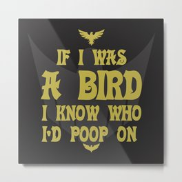 If I Was A Bird Metal Print