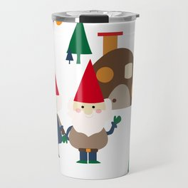 Gnome white Travel Mug