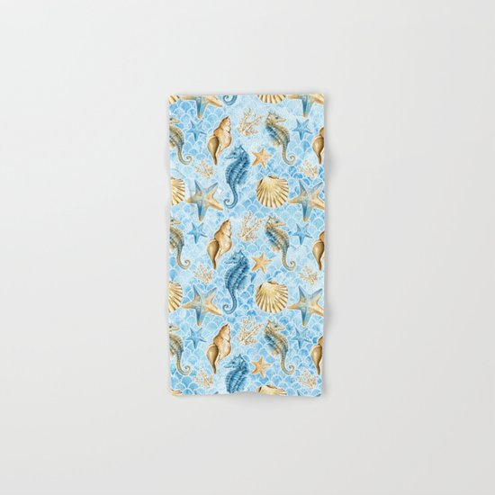 Sea & Ocean #8 Hand & Bath Towel