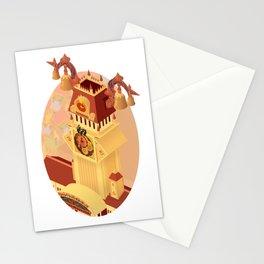 Twilight Tower (Kingdom Hearts) Isometric Art Stationery Cards