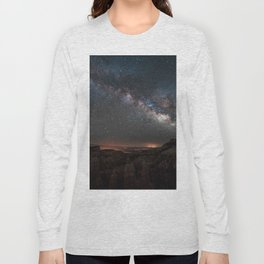MILKY WAY OVER FAIRYLAND CANYON Long Sleeve T-shirt