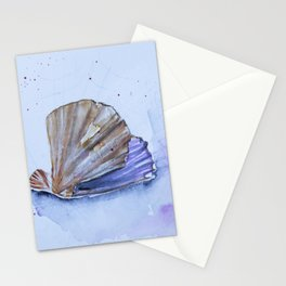 The great scallop - Pecten maximus Stationery Cards
