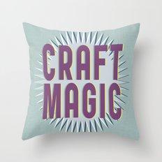 Craft Magic // Berry Throw Pillow