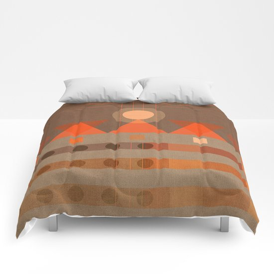 Geometric/Abstract 11 Comforters